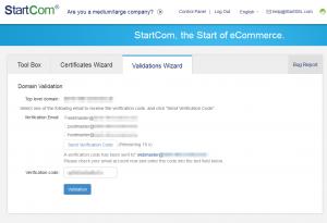 Domain Validierung