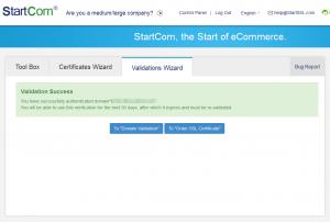 Domain validiert